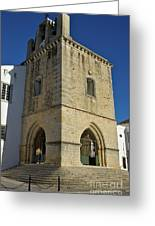 Faro Main Church Bells Tower Greeting Card