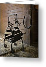 Farriers Tools Greeting Card