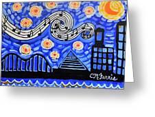 Memphis Nights Greeting Card