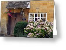 Farthing Cottage Greeting Card