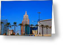 Fascination Las Vegas Greeting Card