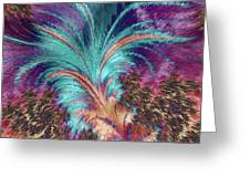 Feather Abstract Greeting Card