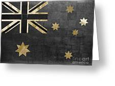 Fashion Flag Australia Greeting Card