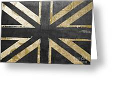Fashion Flag United Kingdom Greeting Card