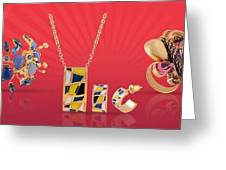 Fashion Jewellery Online Greeting Card
