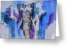 Father Elephant Greeting Card