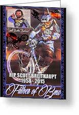 Father Of Bmx Greeting Card