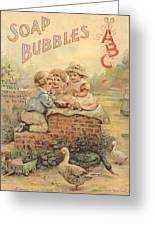 Father Tucks Soap Bubble Greeting Card
