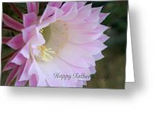 Fathers Day Cactus Greeting Card