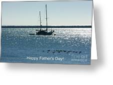 Father's Day Card - Peaceful Bay Greeting Card