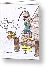 Father's Day Greeting Card by Jayson Halberstadt