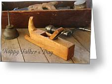 Fathers Day Tools Greeting Card