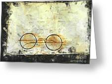 Father's Glasses Greeting Card
