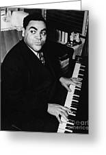 Fats Waller, American Composer Greeting Card