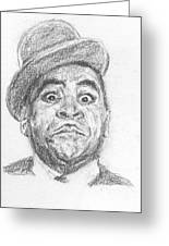 Fats Waller Greeting Card