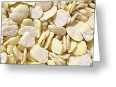 Fava Beans Greeting Card