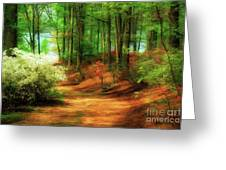 Favorite Path Greeting Card