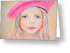 Fayanna Little French Angel Of Trust Greeting Card