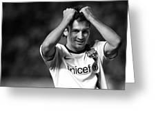 Messi Greeting Card