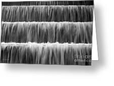 Fdr Memorial Waterfall Greeting Card