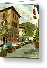 Fdr Piazza Regello Greeting Card