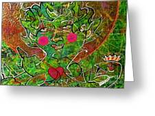 Feast In The Forest Greeting Card