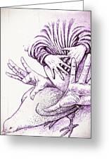 Fecundate A Future Of Peace Greeting Card
