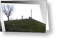 Federal Hill Dog Greeting Card