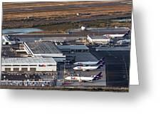 Fedex Express Fedex Ship Center At Oakland International Airport Greeting Card