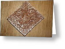 Feel - Tile Greeting Card