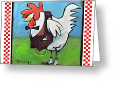 Feeling Cocky Poster Greeting Card