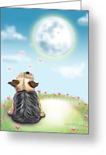 Feeling Love Greeting Card