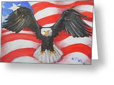 Feeling Patriotic Greeting Card