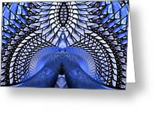 Feeling So Blue Greeting Card