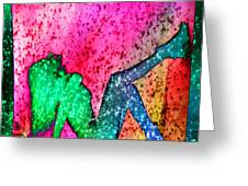 Feelings Explosion V3 Greeting Card