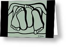 Feet 1 Greeting Card