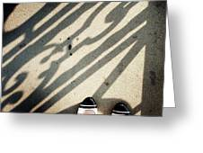Feet Around The World #2 Greeting Card