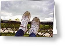 Feet Around The World #20 Greeting Card