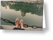 Feet Around The World #21 Greeting Card