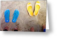 Feet Around The World #23 Greeting Card