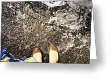 Feet Around The World #6 Greeting Card