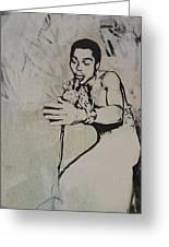 Fela Kuti Greeting Card