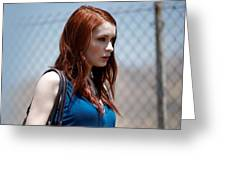 Felicia Day Greeting Card