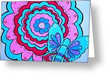 Felicity's Flower Greeting Card
