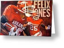 Felix Jones Greeting Card