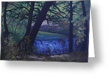 Felkers Falls, Stoney Creek, On Greeting Card