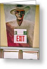 Fellini's Exit - Nola Greeting Card