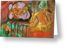 Female Mystic Greeting Card