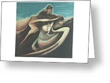 Femme Au Chapeau Greeting Card