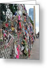 Memories Fence Greeting Card